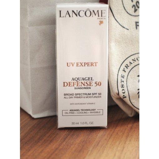 梅西Lancôme送好礼   好用的防晒