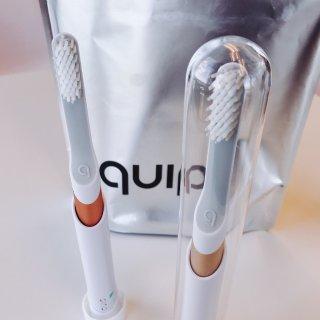 質感超好的Quip電動牙刷,旅行帶著超方...