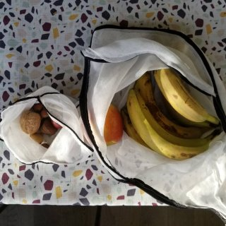 晒一个DIY环保购物袋 - 以后去超市🍞...