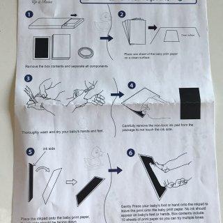【微众测】Up&Raise 手印脚印+相框套装