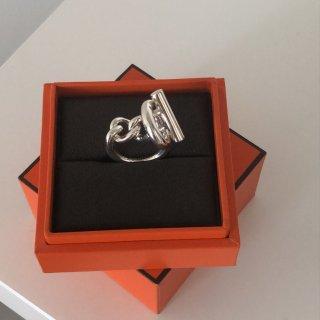 美丽银饰戒指分享 Hermes  Col...