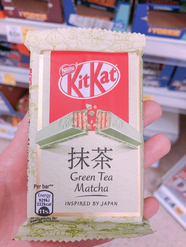 抹茶味kitkat 上市了