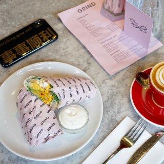 伦敦美食 Grind咖啡馆从不失望...