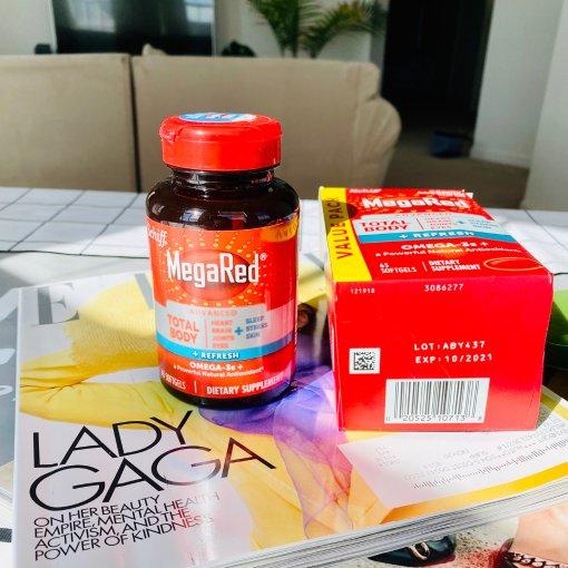 微众测   MegaRed高浓度磷虾油——呵护你的全身心