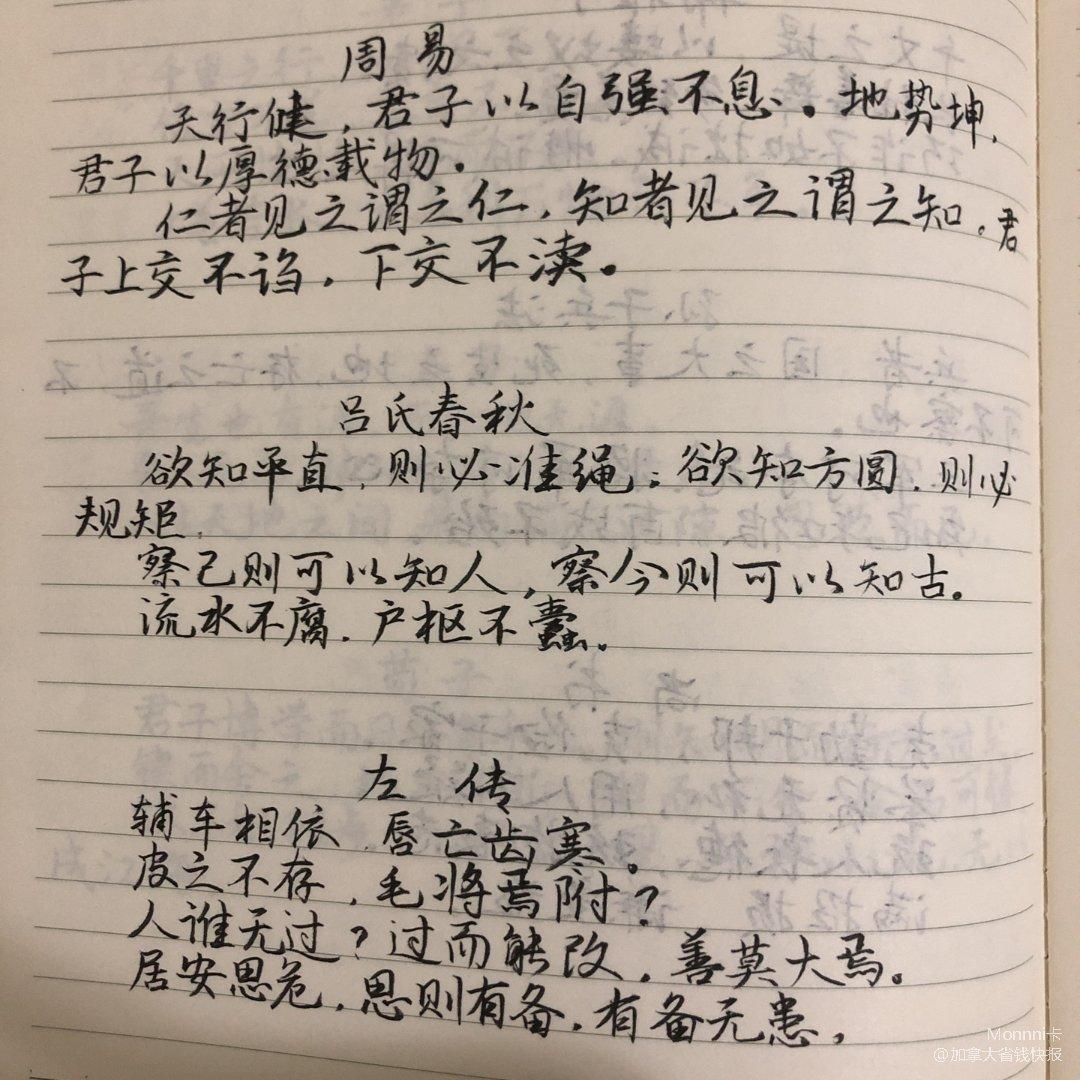 打卡练字|DAY5
