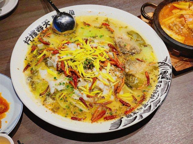 福州长乐美食攻略🌟|柠檬春天·酸菜鱼🐟