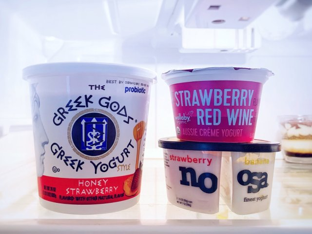 🍓草莓味酸奶来一打~