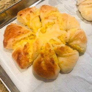 应景的雪花❄️椰蓉面包....