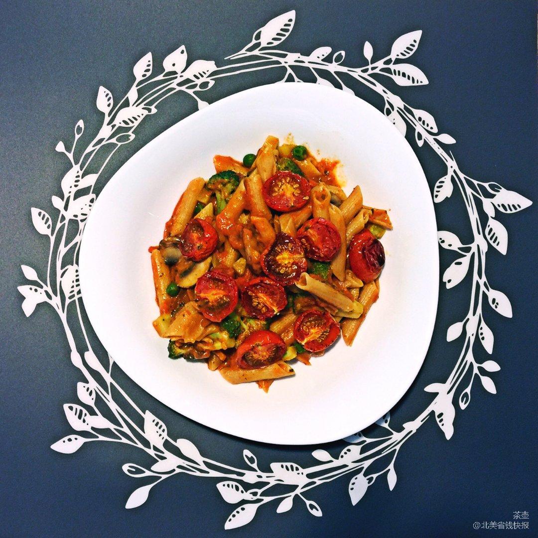 吃不腻的意面 | 番茄与奶油的结合🍝