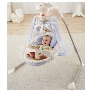 Fisher-Price Starlight Papasan Cradle Swing : Target