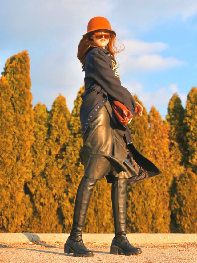 Leather Girl|皮质女孩穿搭