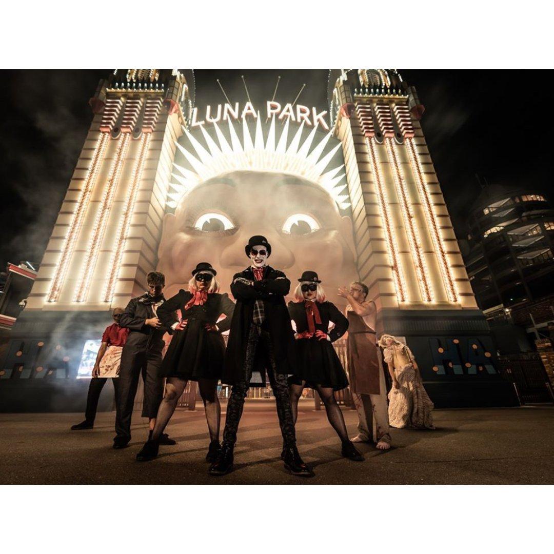 悉尼万圣节派对夜🎃Luna Park 1...
