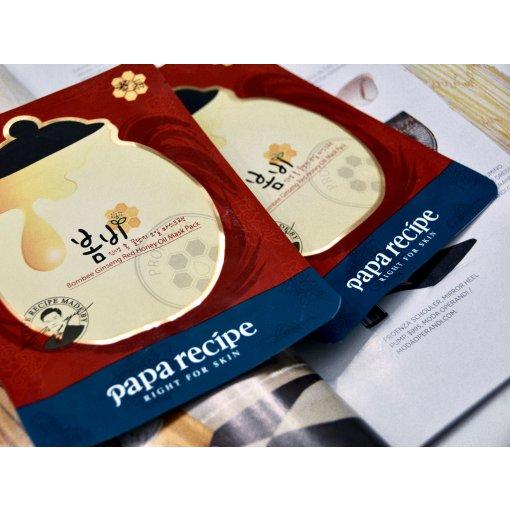 韩国Papa Recipe春雨|红参蜂蜜精油面膜