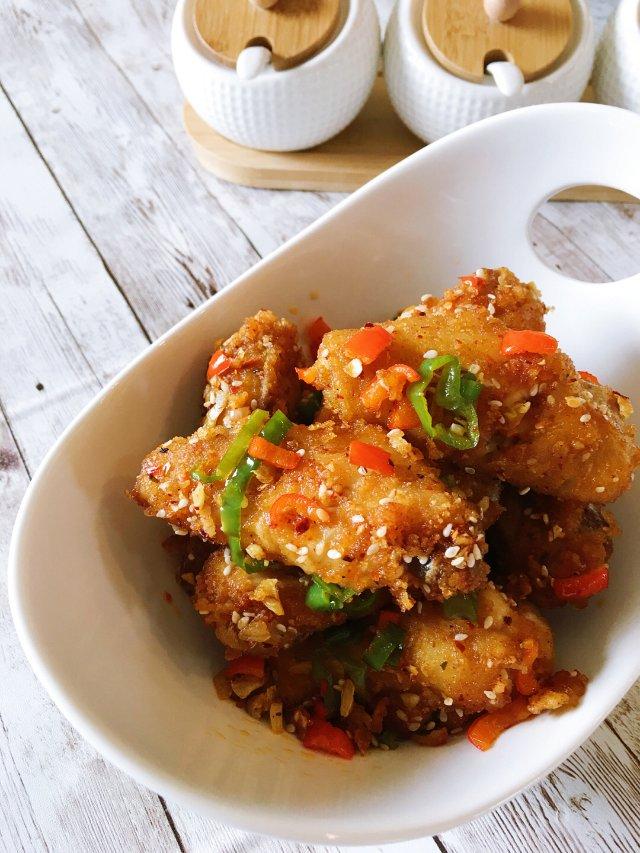 ✨超好吃哒   椒盐鸡翅✨