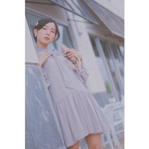 穿搭 | 早秋气质灰色连衣裙👗👗