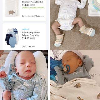 ◡̈ 新生儿如何囤衣服?...