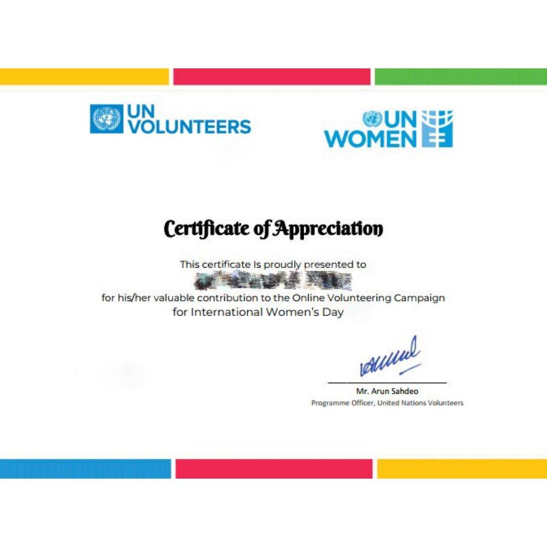在家做联合国🇺🇳志愿者,简历加分项...