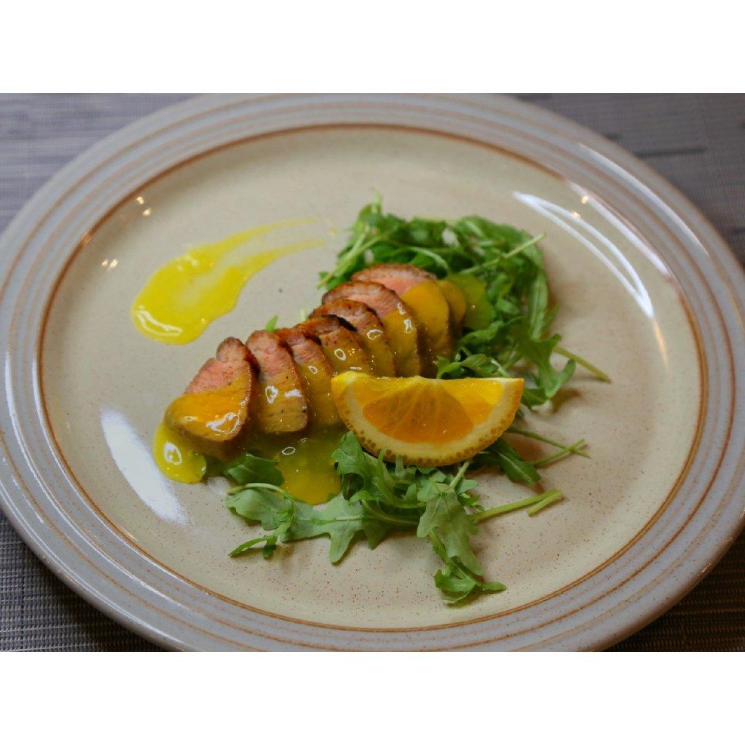 法式橙香鸭胸肉...