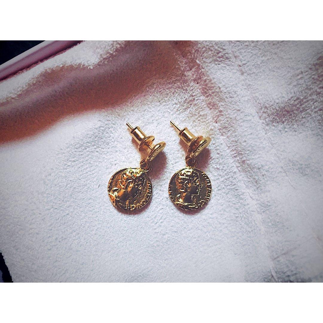 💫💫微众测💫💫MMAGPY金币耳环