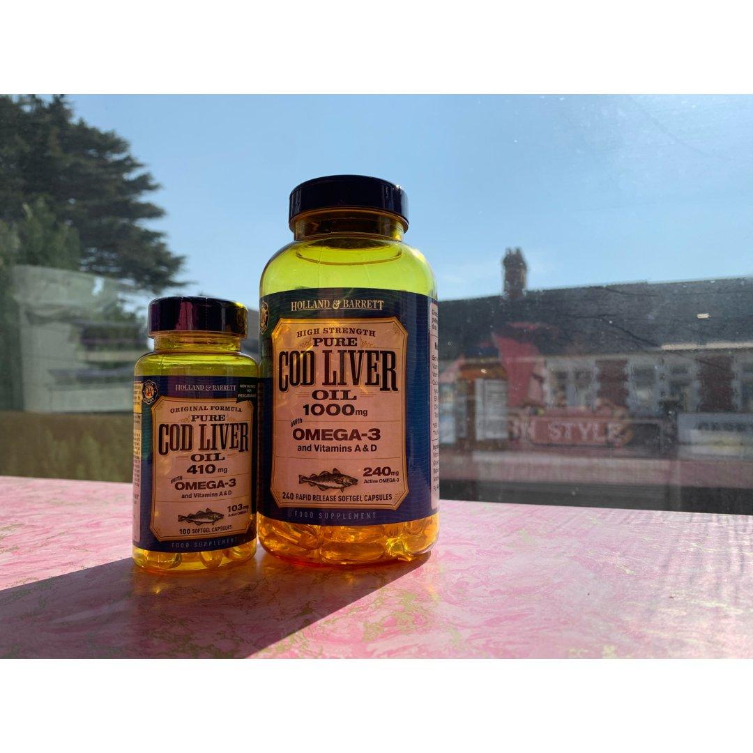 Holland & Barrett 荷柏瑞,鱼肝油