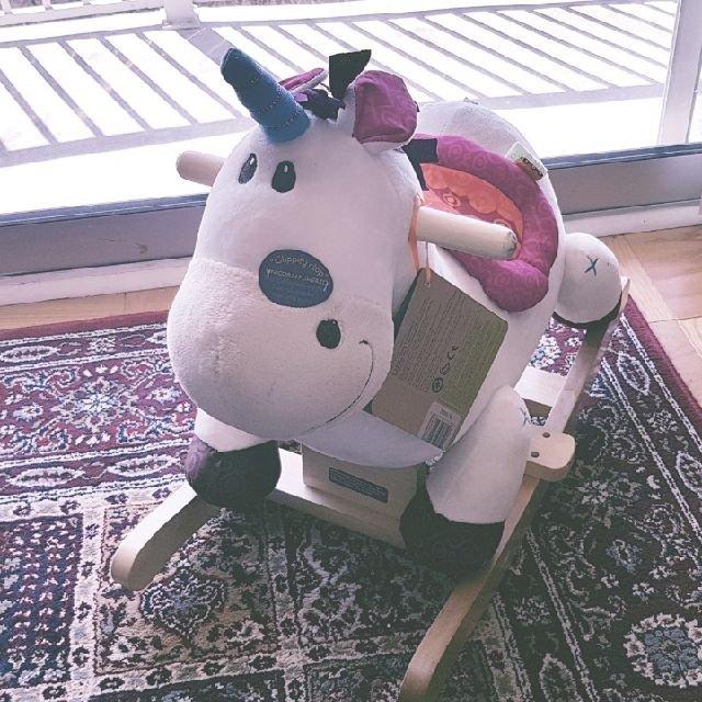 宝宝的unicorn到啦~做工特别...