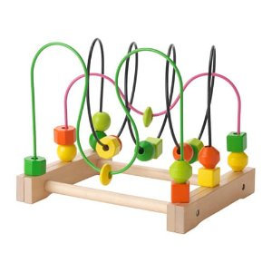 MULA Bead roller coaster - - - IKEA