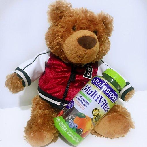 越吃越健康❣️ Vitafusion复合维生素软糖