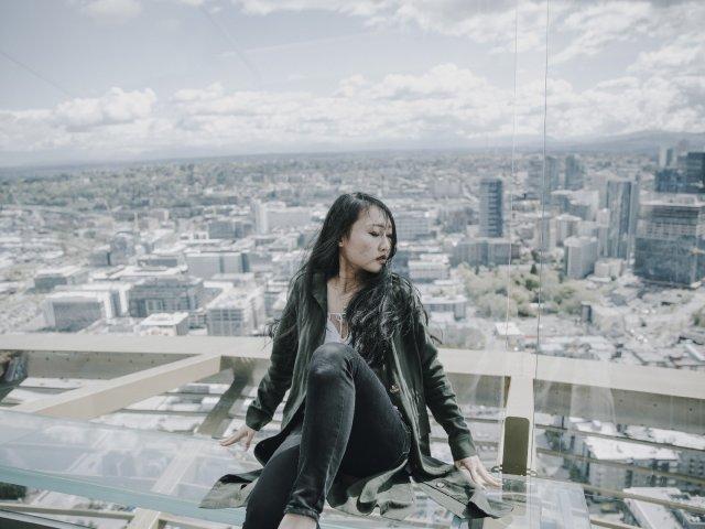 最适合玻璃观景台的滤镜『西雅图太空针塔』