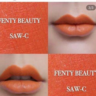 Fenty Beauty💄 红棕色口红...
