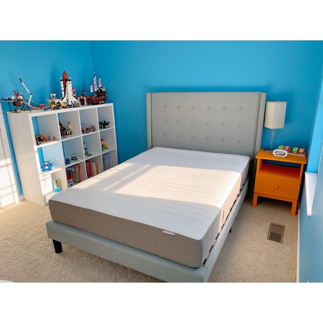 儿子卧室基本弄好了