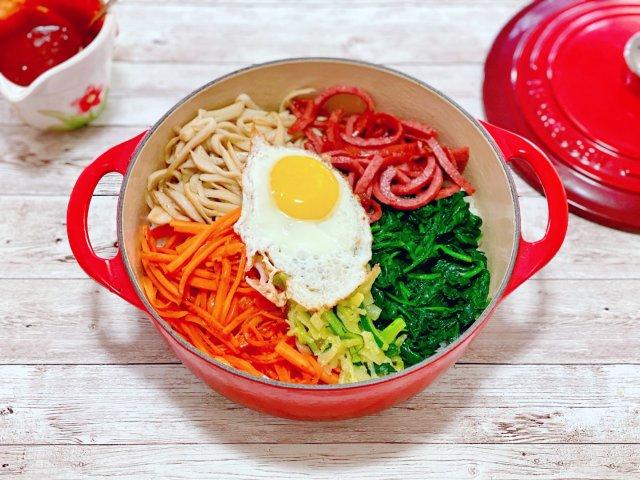 清理冰箱之铸铁锅版石锅拌饭