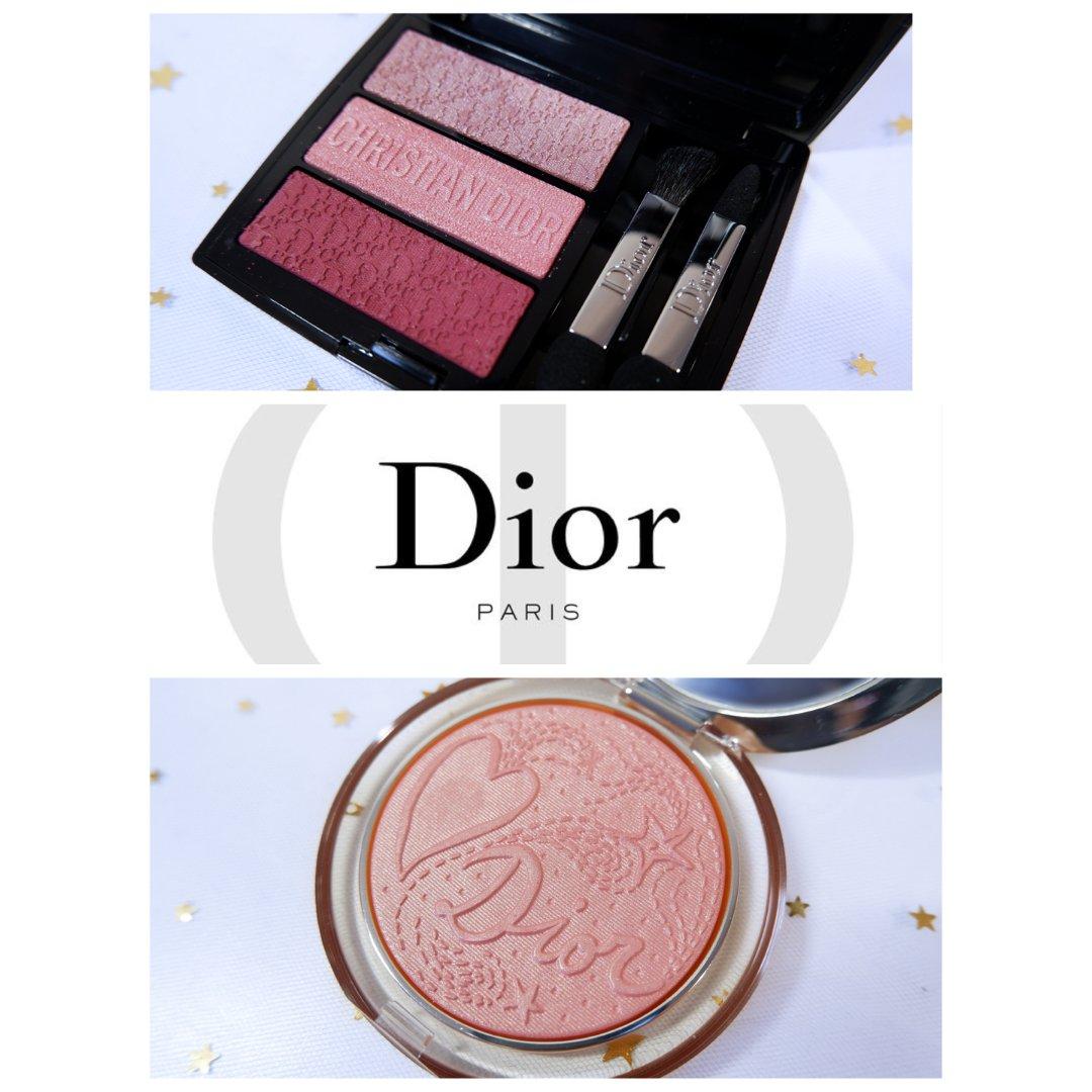 🎀 高光腮红 和Dior一起粉粉哒...