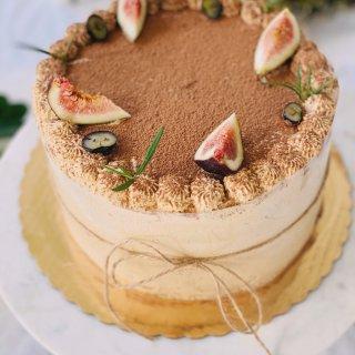 【今日下午茶】Ins 咖啡奶油蛋糕,真的...