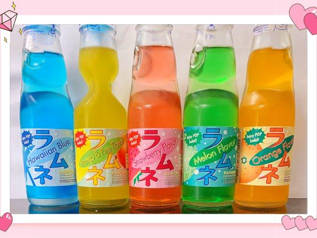 日本弹珠汽水碳酸饮料🥤