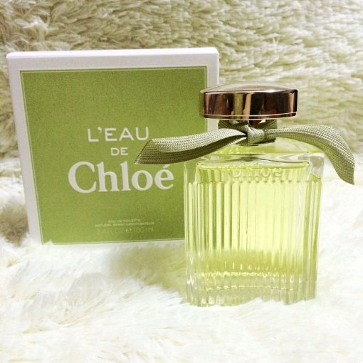 Chloe绿色丝带香水