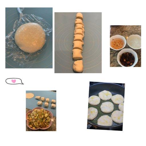 拿一份虾米,做一份煎饼;美味无穷