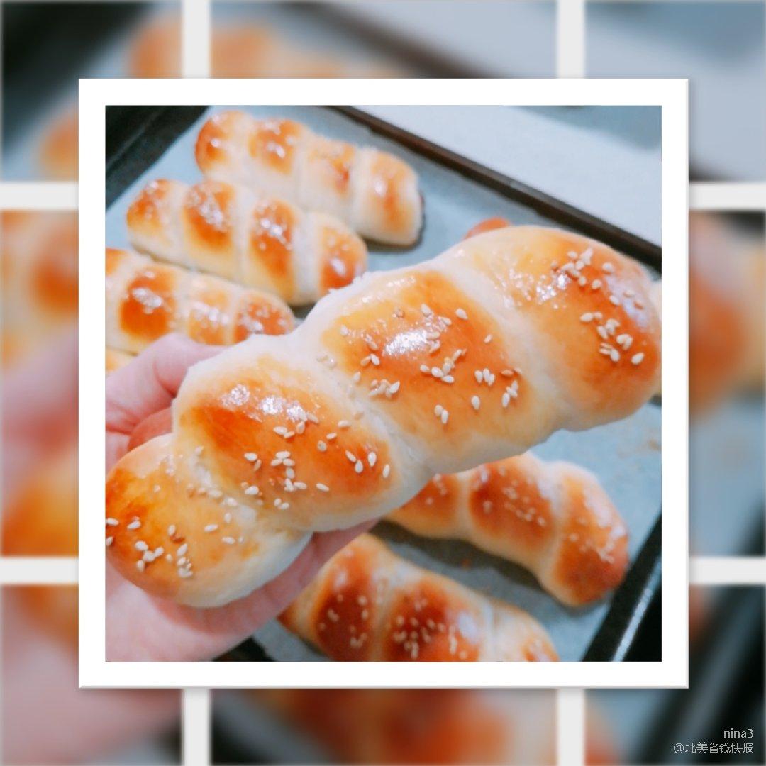 美食计划/热狗面包卷🥖