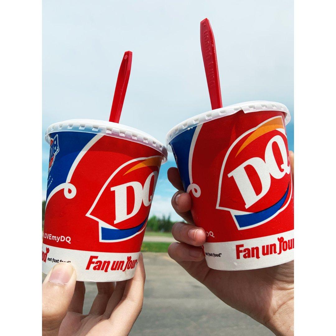 DQ 倒着吃的冰淇淋🍦暴风雪Bli...