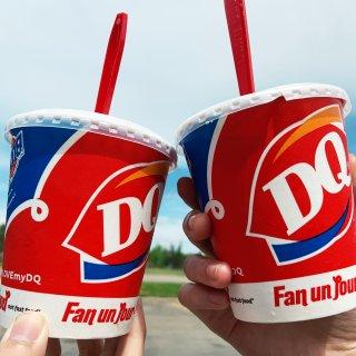 DQ 倒着吃的冰淇淋🍦暴风雪Blizza...