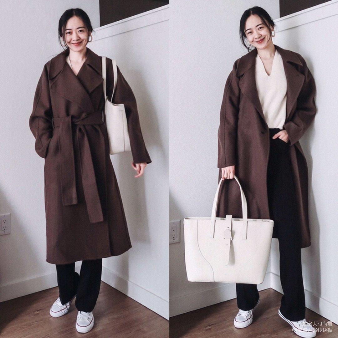 版型好的浴袍大衣,优衣库u系列的网红大衣