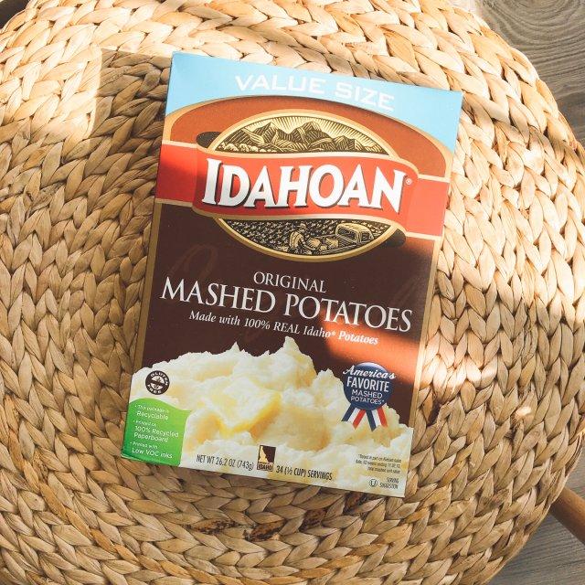每日一撸|免费拿到的一大盒土豆泥🥔