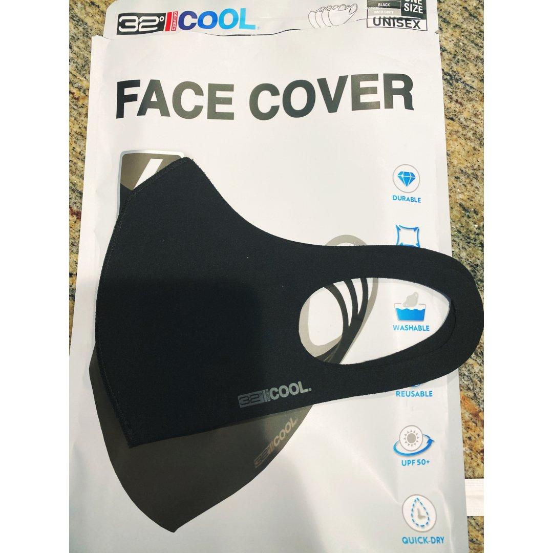 来自costco的布口罩😷