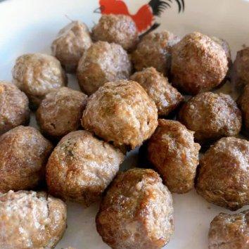 🍡Homemade Italian meatball ...