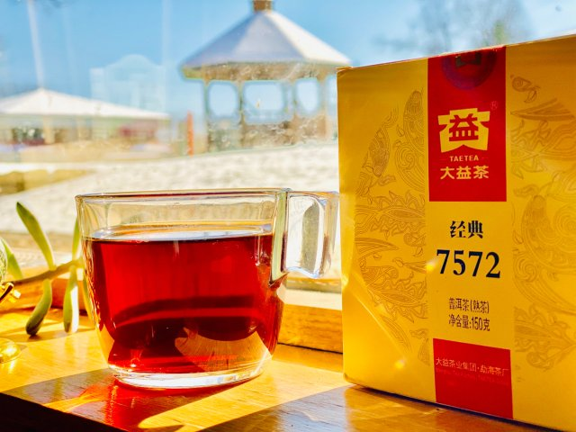微众测:大益普洱熟茶🍵经典7572...