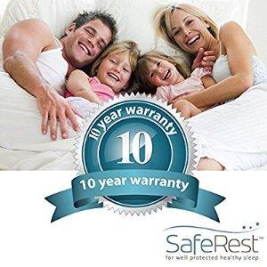 $26Queen Size SafeRest Premium Hypoallergenic Waterproof Mattress Protector