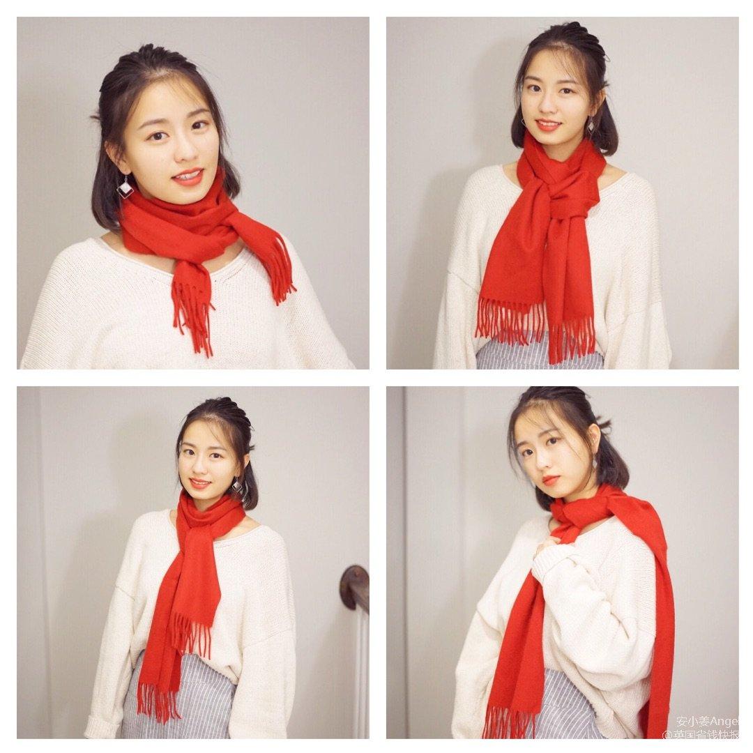 冬日的温暖牌大围巾 | 百变围巾造型