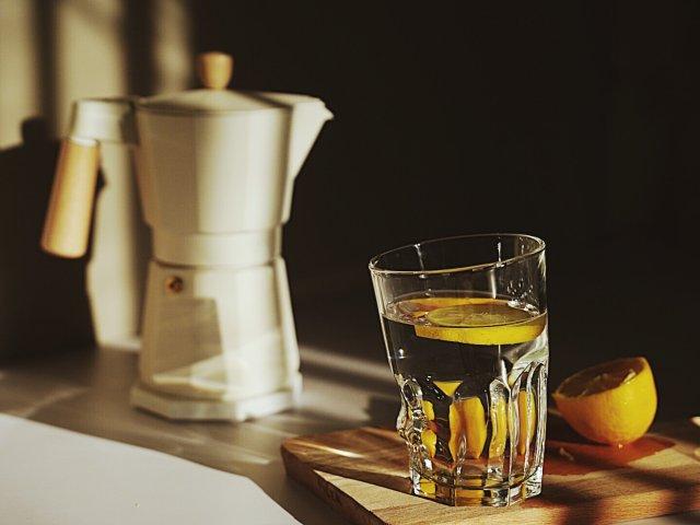 在家不能萎靡☕️咖啡和水都不能少