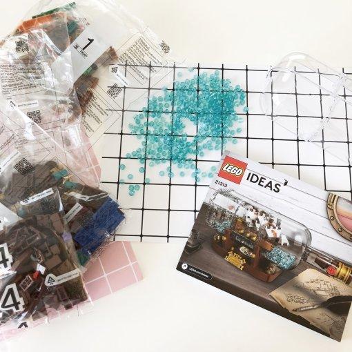 LEGO乐高 IDEAS系列 21313 瓶中船