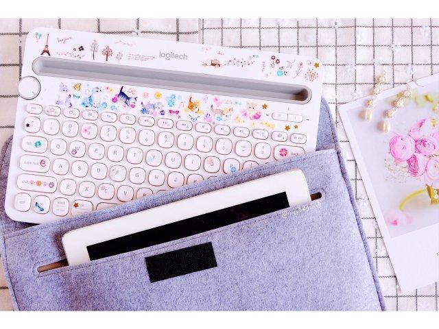 Logitech K480白键盘⌨...