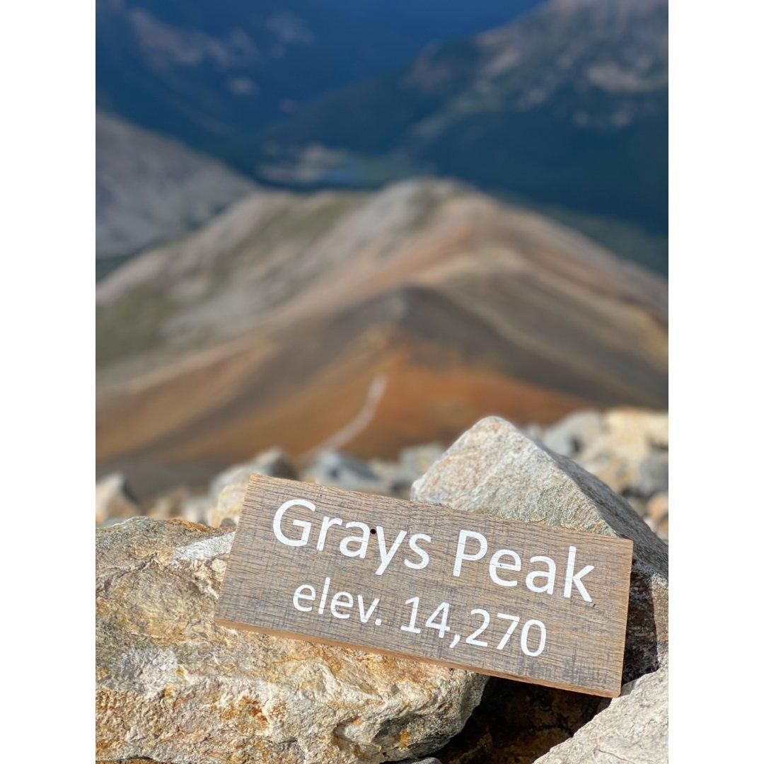 科州14er——Grays Peak🧗...